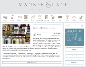 Manner and Lane Home Page